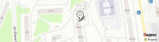 Центральная детская библиотека на карте Мурманска
