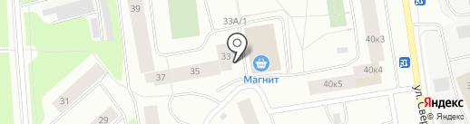Магазин трикотажных изделий на карте Мурманска