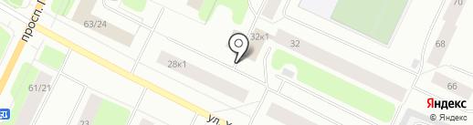 Фиджи на карте Мурманска