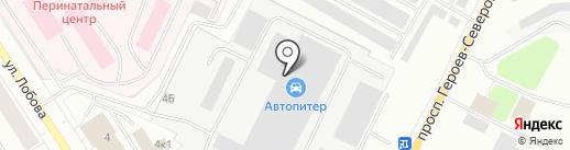 Альфа Нева на карте Мурманска