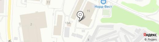 Норд-Вест Ф.К., ЗАО на карте Мурманска