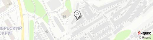СтайлингАвто на карте Мурманска