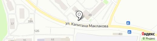 Марципан на карте Мурманска