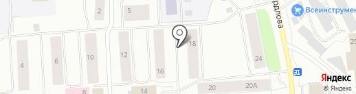 Мэри на карте Мурманска