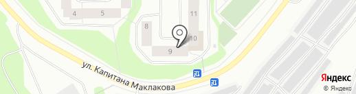 МастерДент на карте Мурманска