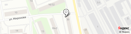 Платежный терминал на карте Мурманска