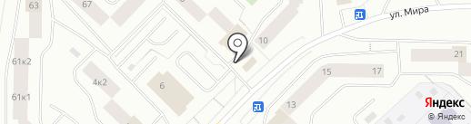 Магазин конфет и печенья на карте Мурманска