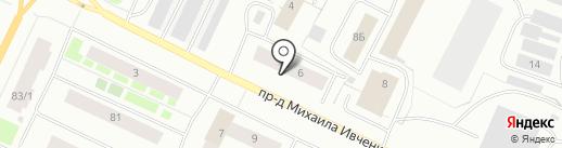 Мир знаний на карте Мурманска
