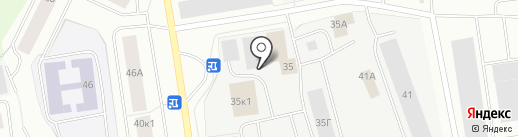 Мурманавтобат на карте Мурманска