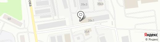 Компаньон на карте Мурманска