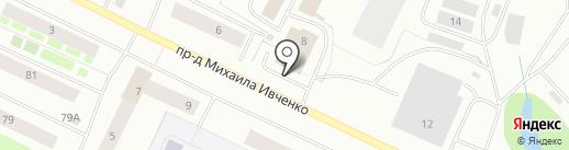 Закусочная на карте Мурманска