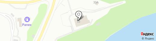 Пожарная часть № 4 на карте Мурманска