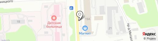 Пионер Сервис на карте Мурманска