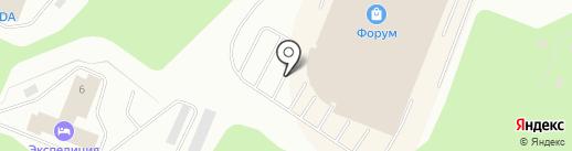 Шумарик на карте Мурманска