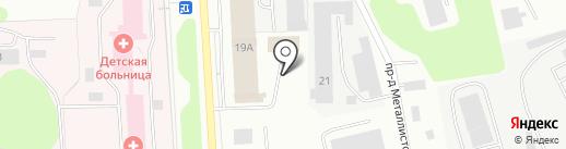 АРком на карте Мурманска