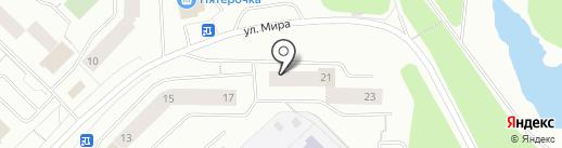 Мастерстрой на карте Мурманска