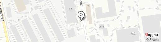 Экспресс на карте Мурманска