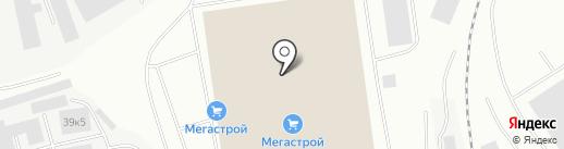 МЕГАСТРОЙ на карте Мурманска
