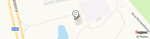 Гарант на карте Мурманска