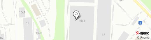 ПолярисМол на карте Мурманска