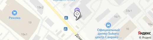 ПЭК на карте Мурманска