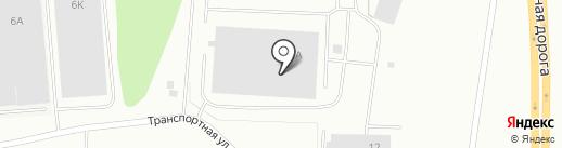 Мурманлесторг на карте Мурманска