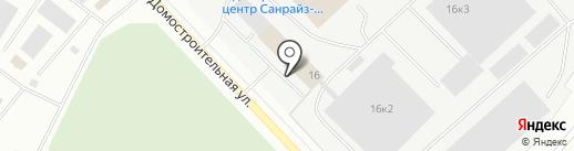 ЛСР. Клинкер тротуарный на карте Мурманска