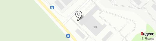 Магазин автозапчастей для МАЗ, КамАЗ на карте Мурманска