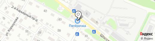 Таблетка на карте Брянска