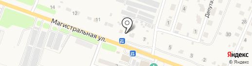КОМПЛЕКС КРИСТАЛЛ на карте Мичуринского