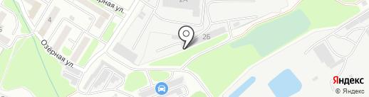 Центр порошковой окраски на карте Брянска