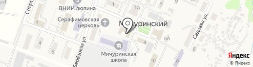 Историко-краеведческий музей Брянского района на карте Мичуринского