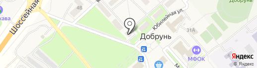 Колибри на карте Добруня
