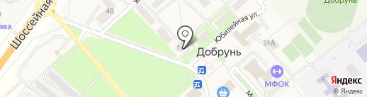 Qiwi на карте Добруня