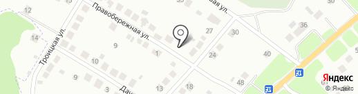 Уютный двор на карте Брянска