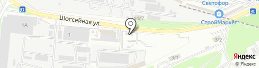 Технос на карте Брянска