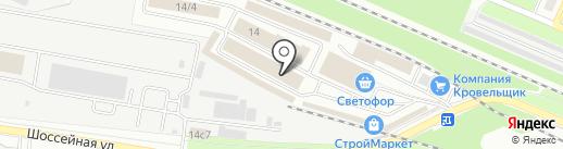 Торговый путь на карте Брянска