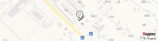 Автомойка для грузового и легкового транспорта на карте Добруня