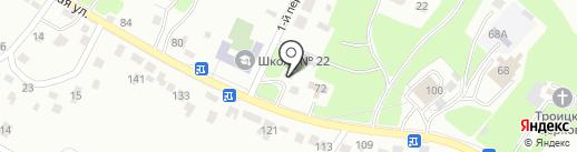Почтовое отделение №24 на карте Брянска