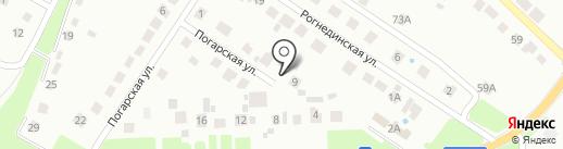 Yamaha-Брянск на карте Брянска
