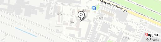 Брянский завод силикатного кирпича, ЗАО на карте Брянска