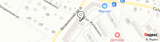Panda на карте Петрозаводска