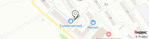 Магазин товаров для дома на карте Петрозаводска