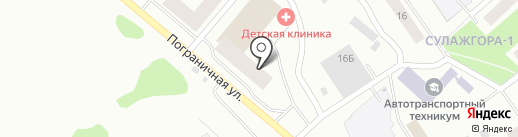 Корал Групп Эксплуатация на карте Петрозаводска
