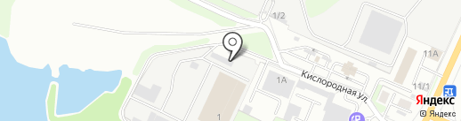 Брянское управление механизации спецтехники на карте Брянска