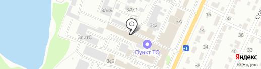 АТЦ Десна 32 на карте Брянска