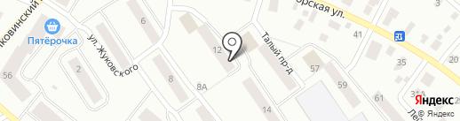 Парикмахерская на карте Петрозаводска
