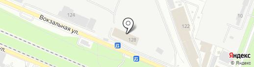 Брянское предприятие промышленного железнодорожного транспорта, ЗАО на карте Брянска