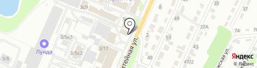 Центр шиномонтажа на карте Брянска