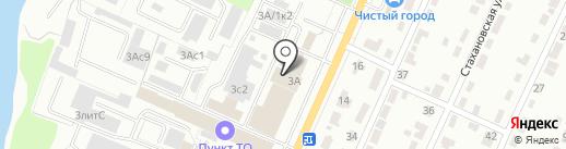 Авторум на карте Брянска